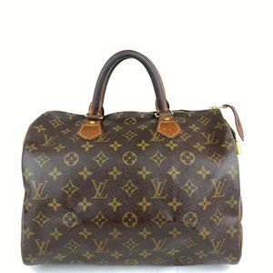 Louis Vuitton Monogram Speedy 30 Medium Boston